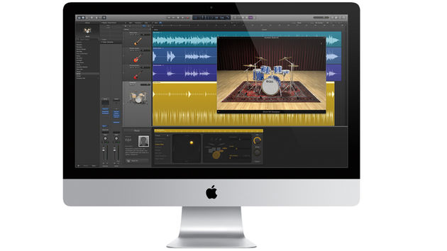 Pro X's Drummer feature allows users to create realistic studio drum tracks.