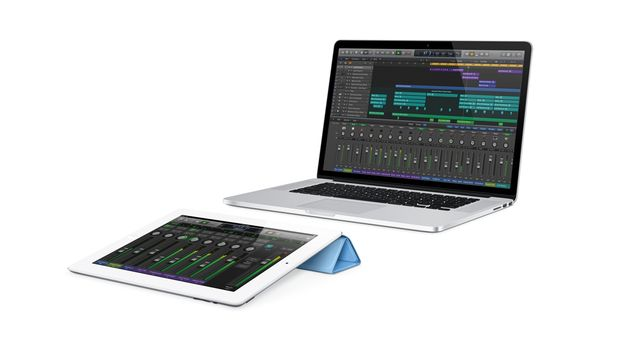 Logic Control turns an iPad into a wireless controller for the DAW.
