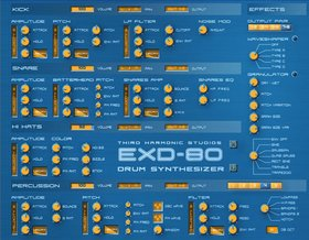 Third harmonic studios exd-80