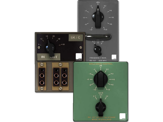 The Brilliance Pack contains three vintage EQs.
