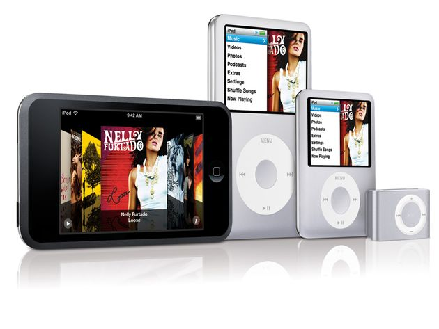Look out for new iPods later today.