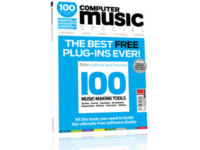 The Computer Music Freeware Special gives you all the free music making tools you'll need.