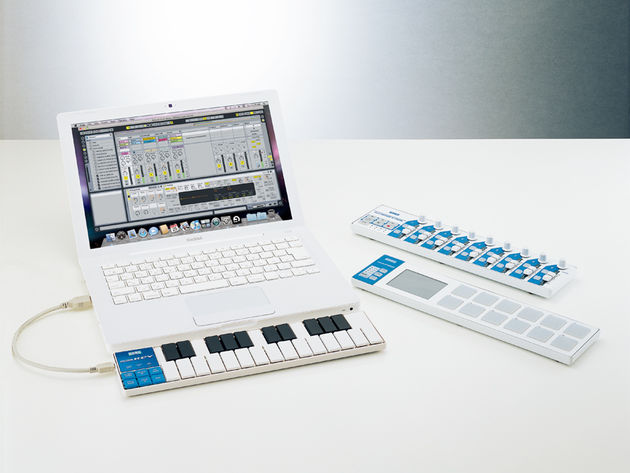 Controllers such as Korg's forthcoming nanoSeries devices are making the studio more portable than ever.