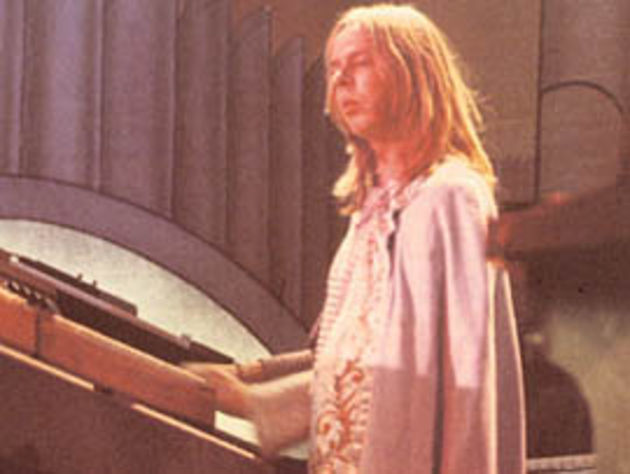 Rick Wakeman had a cloak of a rather different sort.