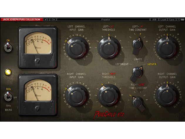 The PuigChild 670 emulates a classic Fairchild compressor.