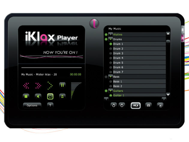 The iKlax Player can be downloaded for free