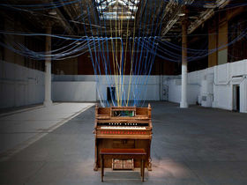 House music: David Byrne turns a building into a giant organ