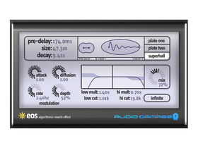 Audio Damage EOS is 'custom designed' reverb