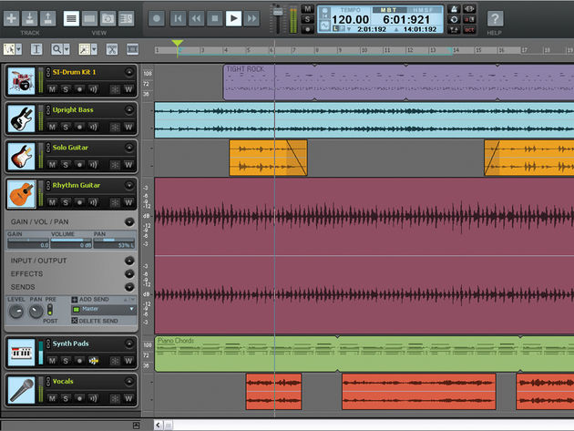 Guitar Tracks Pro 4 is based on Sonar technology.