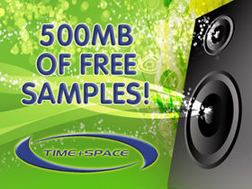 500MB of free samples from Time+Space