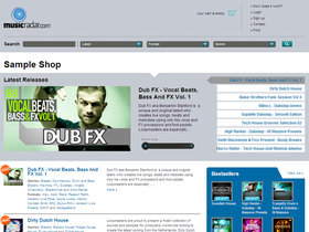 musicradar sample store