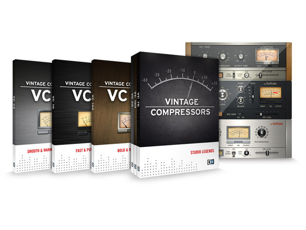 Vintage Compressors comprises three separate models. Click the image to see each of them individually.