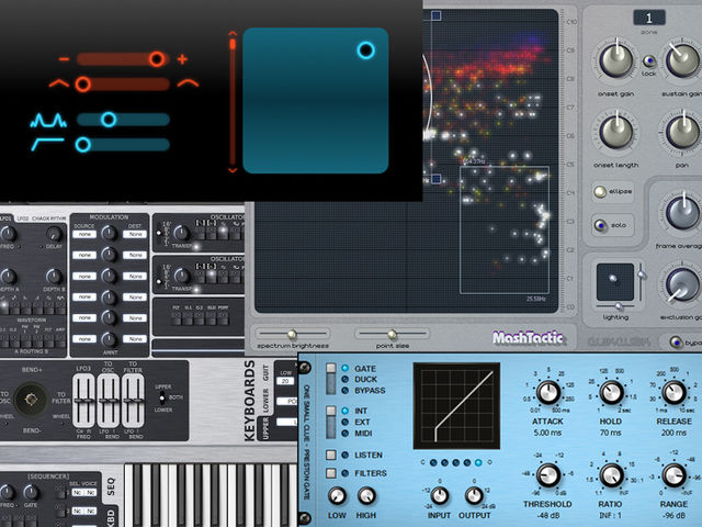 One synth; three effects