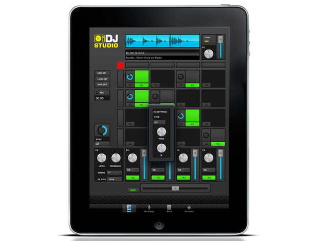 iphone ipad ios music making app round up week 67 rocudo loopmasters dj studio free tech. Black Bedroom Furniture Sets. Home Design Ideas