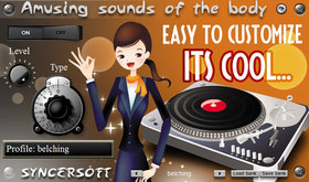 Syncersoft amusing sounds of the body