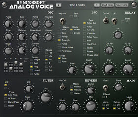 Syncersoft analog voice