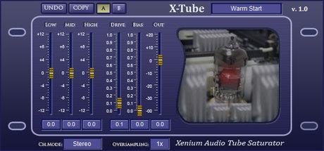 Xenium audio x-tube