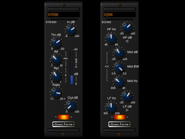 OverTone DSP EQ500 and DYN500