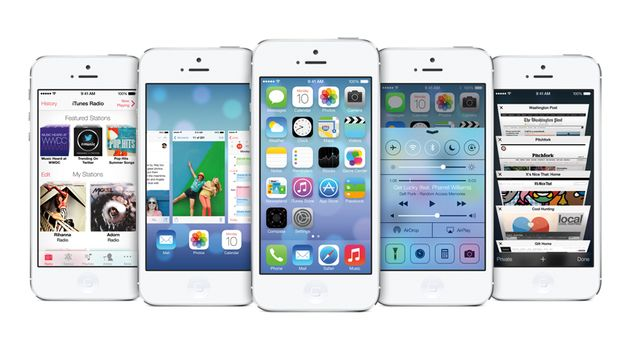 iOS 7: it doesn't just look different.