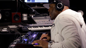 In the studio with Teddy Riley