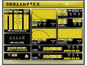38911 Bytes synth gives you the C64 sound