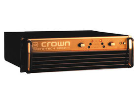Crown unveils its Macro-Tech Anniversary power amp