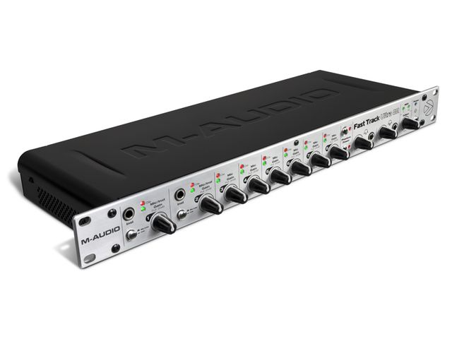 Fast Track Ultra 8R gives you eight inputs and eight outputs.