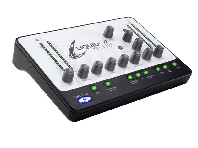 Liquid Mix 16 is a DSP box and control surface in one.