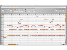 Musikmesse 08: Edit polyphonic audio files in Melodyne