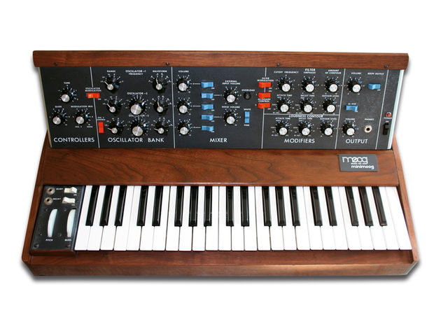 Did you correctly identify the real Minimoog clip?