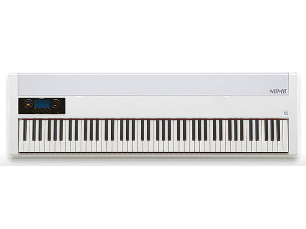 Numa's keyboard is said to feel like that of a concert grand.