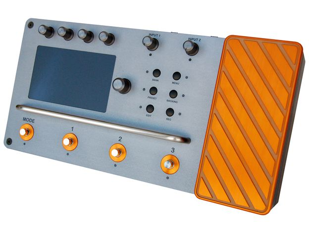 The V-Pedal is a stomp box with a difference.