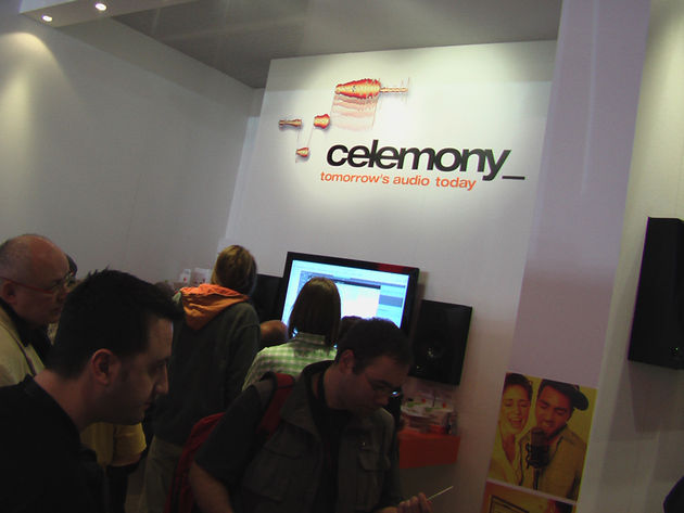 The Celemony stand was a hive of activity in Frankfurt