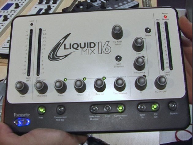 Focusrite's Liquid Mix 16 makes its debut at Musikmesse Frankfurt