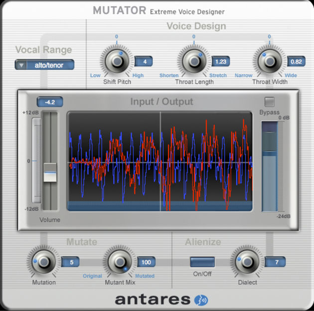 Mutator enables you to produce all kinds of out-there sounds.
