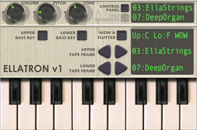iPhone gets a Mellotron