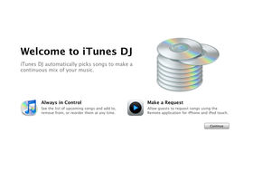 Apple iTunes DJ explained
