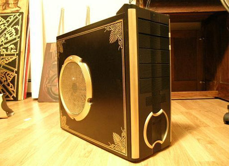 Absinthetic's tower case mod