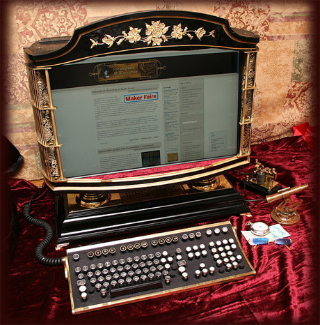Steampunk workshop all-in-one pc
