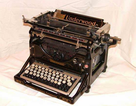 an analysis of typewriters an endangered species