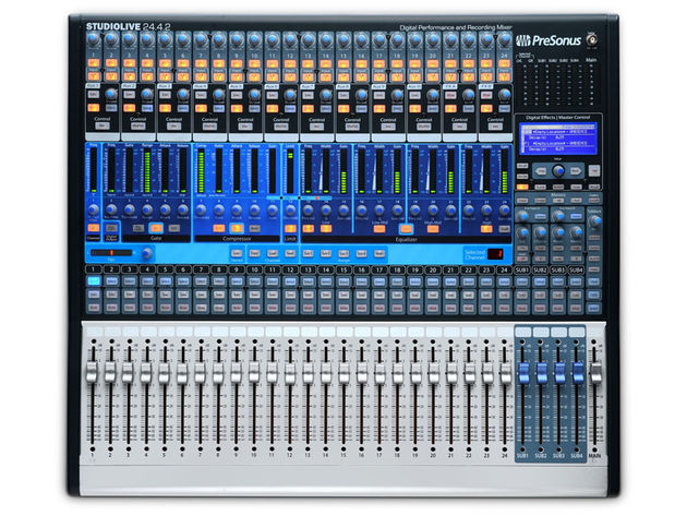 PresSonus Studiolive 24:4:2: now that's a mixer.