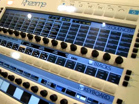 Musikmesse 2010: Feeltune Rhizome groovebox on video