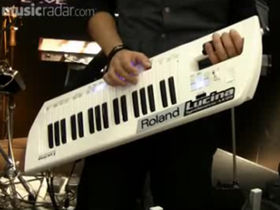 Musikmesse 2010: Roland Lucina AX-09 video demo