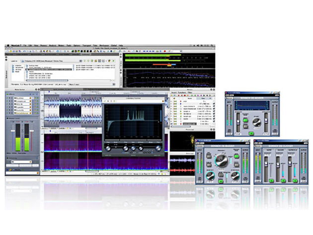New audio editing and mastering suite