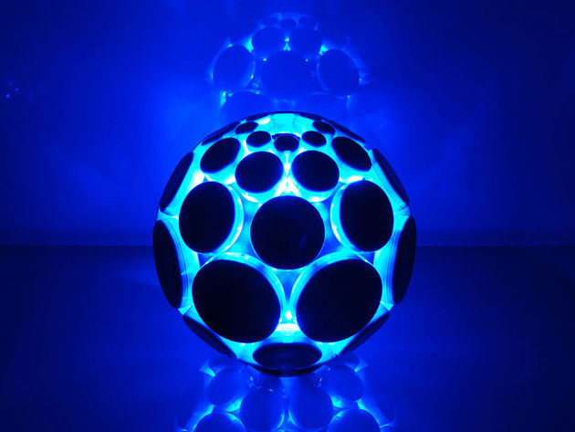 We're always a fan of cool blue LEDs...