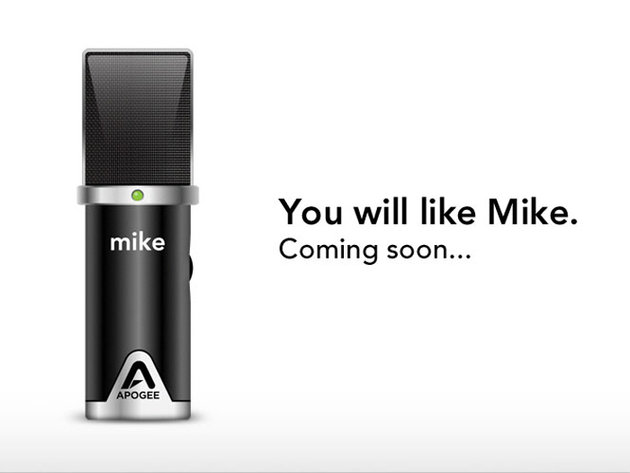 Apogee mike