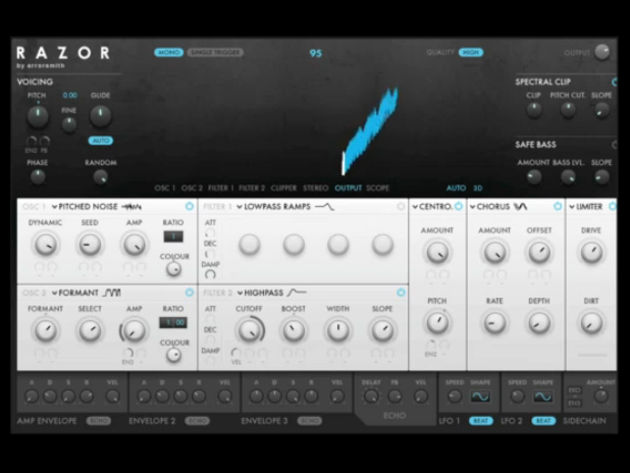 Native Instruments Razor: looking sharp.