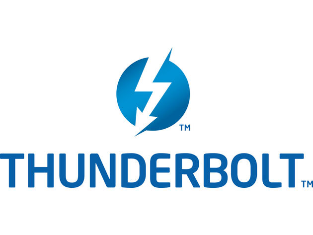 The Thunderbolt logo: expect to be seeing this a lot.