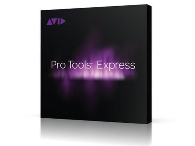 Pro Tools Express: get it with your Mbox.