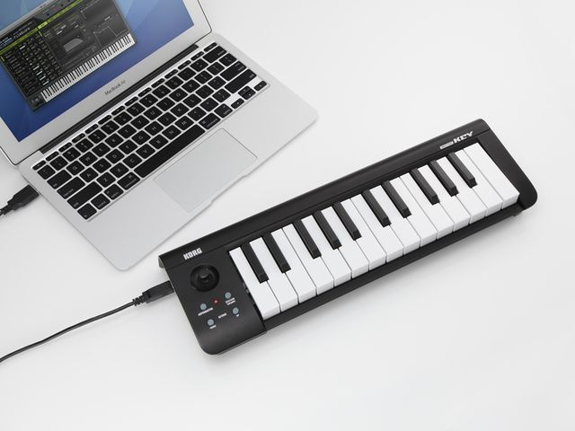 Korg microKey 25: click the image for more product shots.
